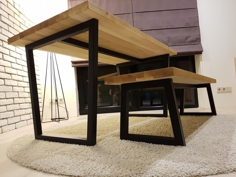"Valgomojo stalas ""Modern Oak"""